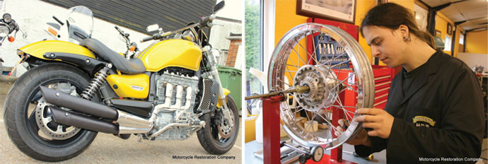 Motorcycle Restoration Company   what's on in Essex   Events